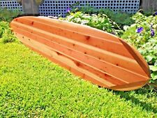 "Absolutely Stunning Handcrafted ""One Of A Kind"" 7'10' Exotic Wood Surfboard"