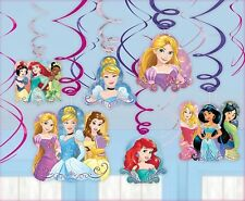 Disney Princess Dream Big - Hanging Swirl Decorations Birthday Party Supplies