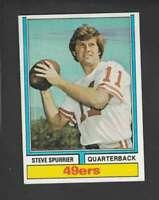1974 Topps #215 Steve Spurrier GVG 49ers 154211