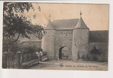 Oude Postkaart CPA Nels Entrée du Château de Tarcienne Walcourt