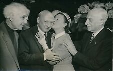 Abel Gance - Gaby Morlay - Jean Paul Le Chanois - André Maurois 1955 - PR 111