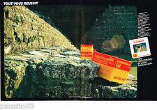 PUBLICITE ADVERTISING 065  1980   KODAK   film KODACHROME 64 diapositive ( 2p)
