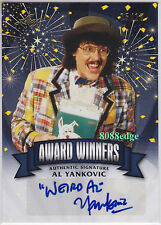 "2014 POP CENTURY AWARD WINNERS AUTO: ""WIRED"" AL YANKOVIC #5/10 AUTOGRAPH GRAMMY"
