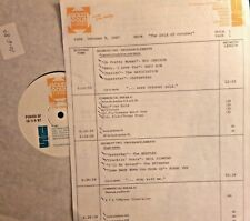 RADIO SHOW:OCT 10/5/87 CARPENTERS, NEIL DIAMOND, ROY ORBISON,JOAN BAEZ,BOBBY VEE