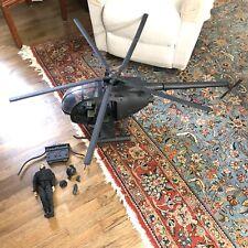 Ultimate Soldier 1/6 Black AH-6 Little Bird Night Stalker & CIA Operative Pilot