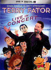 Terry Fator: Live in Concert (DVD, 2014, Includes Digital Copy UltraViolet) NEW
