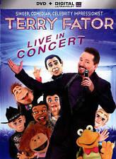 NEW - Terry Fator Live In Concert [DVD + Digital] Ultraviolet