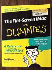 The Flat Screen iMac for Dummies by: David Pogue store#920B