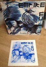 LP EMPIRE EU Merveilleusement fou New wave gothique 1982 avec livret EXC