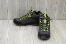 Merrell Thermo Freeze Mid Waterproof Hiking Shoes, Men's 8.5M, Charcoal/Lime