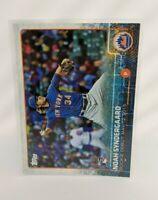 2015 Topps Update #US234 Noah Syndergaard New York Mets Rookie Debut RC