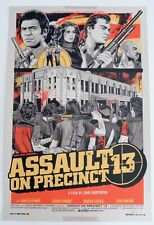 ASSAULT ON PRECINCT 13 MONDO POSTER BY TYLER STOUT LIMITED EDITION SCREEN PRINT