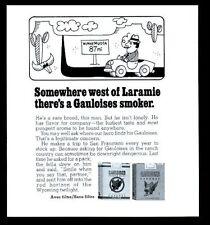 Werbung für Gauloises