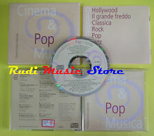CD CINEMA & POP MUSICA compilation CINDY LAUPER DIANA ROSS (C11) no lp mc dvd