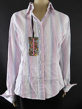 T.M.Lewin Hip Length Formal Striped Tops & Shirts for Women