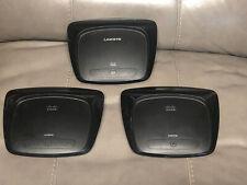 Lot 3 Linksys Cisco WRT54G2 V1 Wireless-G Broadband Router NO ADAPTER