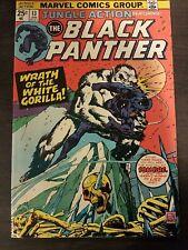Black Panther 13 1975 Killmonger app Venomm Bronze Age Sombre White Gorilla
