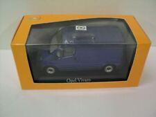 GENUINE Vauxhall Vivaro (Blue) 1:43 Diecast Model Car by Minichamps