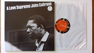 JOHN COLTRANE A Love Supreme - Hachette Impulse A 77 Italy sealed 180g w.booklet