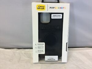NEW OtterBox PopSockets iPhone 11 Pro Defender Series Black Case