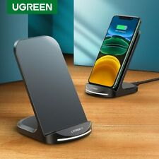 Ugreen Qi Wireless Charger Fr iPhone X XS Samsung 10W Fast Charging Dock Station