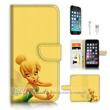 ( For iPhone 7 ) Wallet Case Cover P3235 TinkerBell