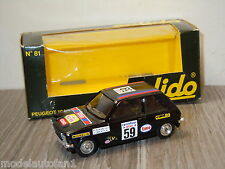 Peugeot 104 ZS van Solido 81 France 1:43 in Box *20603