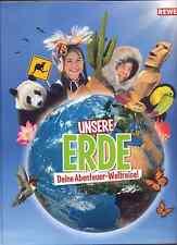 REWE Unsere Erde 20 Sticker aus Liste aussuchen, viele Tierbilder