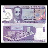 Philippines 100 Piso Banknote, 2008, P-199, COMM, UNC, Asia Paper Money