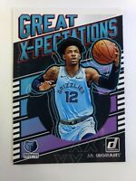 2019-20 Panini Donruss Great X-pectations Ja Morant Rookie RC #17, Grizzlies