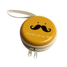 Mini Zipper Earphone Headphone SD Card Bag Box Carrying Pouch Storage Cartoon J1