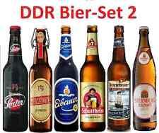 6 DDR Biere Ostpaket Bier 6 beliebte Biersorten der DDR (5€ pro Liter) Bierset 2