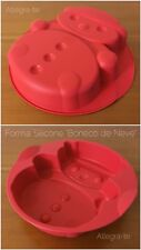 Stampo Silicone Pupazzo Di Neve Tupperware In Regalo Lo Shopper