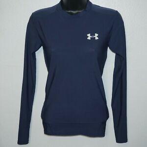 Under Armour Womens Long Sleeve Compression Heat Gear Size Small/Medium