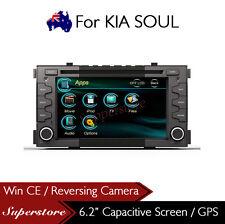 "6.2"" Navigation Car DVD GPS Player Head Unit For KIA SOUL SPORTAGE 2009-2011"