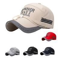 Men Snapback Cap Baseball Golf Cap Reflective Hat Quick Drying and Windproof