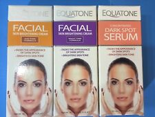 EQUATONE Facial Skin Brightening Cream Lot Day Night Time Formula Dark Spot