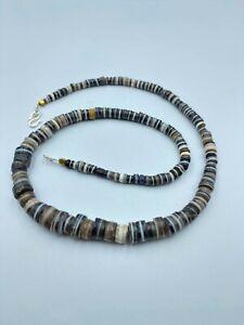 Ancient Disk Agate Indo Tibetan Himalayan beads old bead antique original rare