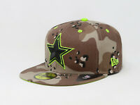New Era 59Fifty Cap NFL Team Dallas Cowboys Brown Tan Camouflage Mens Fitted Hat