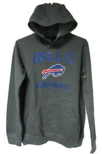 "Buffalo Bills Youth M (8-10) L (12-14) or XL (16-18) ""Distressed"" Hoodie B3 26"