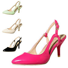 tata Womens Ladies high heels mens party prom shoes pumps Sandals Plus Size