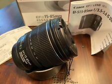 Canon EF-S 15-85mm f/3.5-5.6 IS USM Lens - Image Stabilized Autofocus Zoom Lens