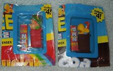 PEZ mini: Cereal Set (Lucky Charms &  Cocoa Puffs) NEW sealed in package