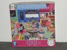 "Ceaco 300 Pc Puzzle Gigi the Cat ""Shopping"""