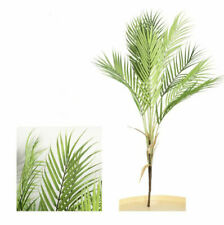 88 Cm Artificial Palm Tree Branches Plants Plastic Tropical Fake Indoor Plant