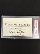 James Earl Jones Signed Cut Signature Darth Vader Auto PSA/DNA Autograph Field