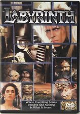 Labyrinth DAVID BOWIE YOUNG JENNIFER CONNELLY USED VERY GOOD, DISC MINT DVD
