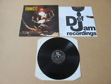 PUBLIC ENEMY Yo ! Bum Rush The Show DEF JAM LP & INSERT ORIGINAL UK 1ST PRESSING