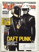 DAFT PUNK Cover ROLLING STONE 1184 June 6 2013 Natalie Maines edm John Fogerty