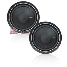 "(2) Rockford Fosgate P1S2-12 Subs SVC 2-Ohm 12"" Punch Car Subwoofers 1,000W New"